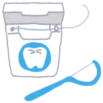 歯間ブラシとフロス(糸ようじ)の目的の違い、口内炎への効果