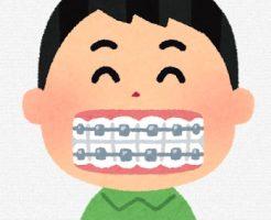 歯科矯正器具 口内炎